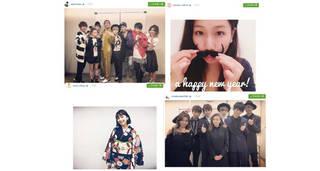AAA 與真司郎、SKY-HI、Da-iCE、東京女子流、江野沢愛美、飯豊まりえなど【Instagramピックアップ10〜New Year Special〜】