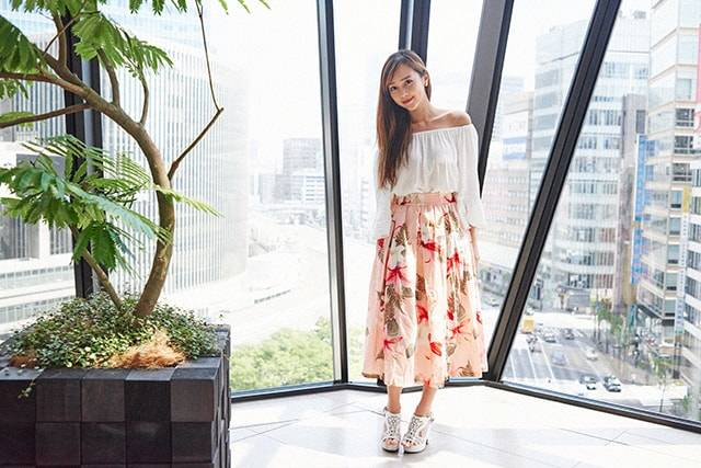 【ファッション】【私服】 ICONIQのガーリーカジュアルなお買い物コーデ