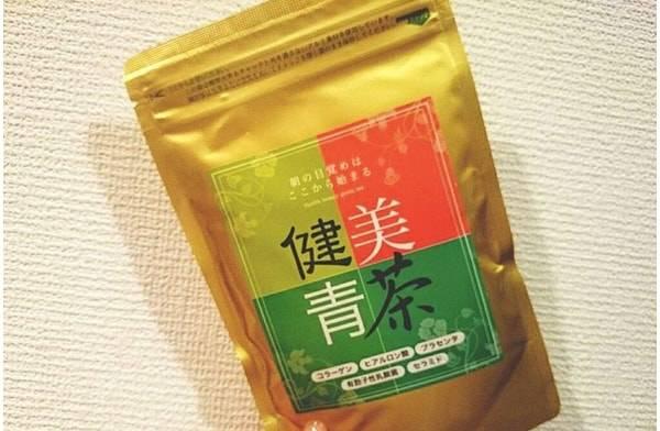 """スタイルキープの秘訣は""""青汁"""""""
