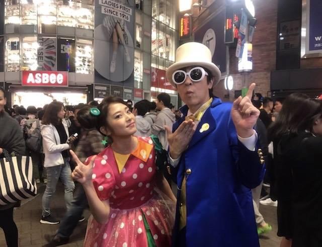 伊藤一朗、ハロウィンコスプレで渋谷に現るも気づかれず