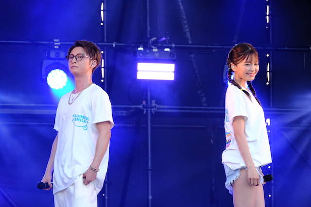 宇野実彩子 (AAA)とSHINJIRO ATAE (AAA)