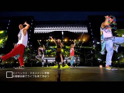 【動画】視聴者プレゼントあり!倖田來未のa-nationライブの模様からELT伊藤のライブ終了後までDJ KOOが密着!