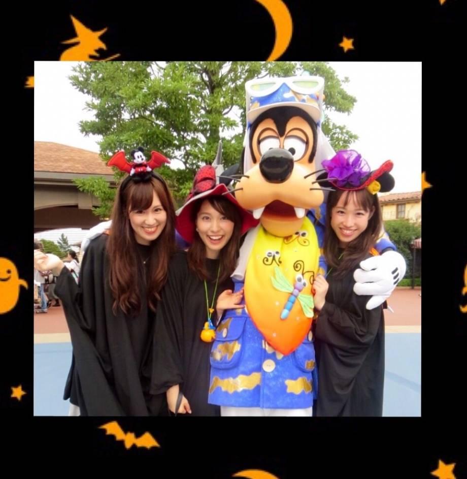 with】ディズニーハロウィンレポート!! with girls|エンタメ