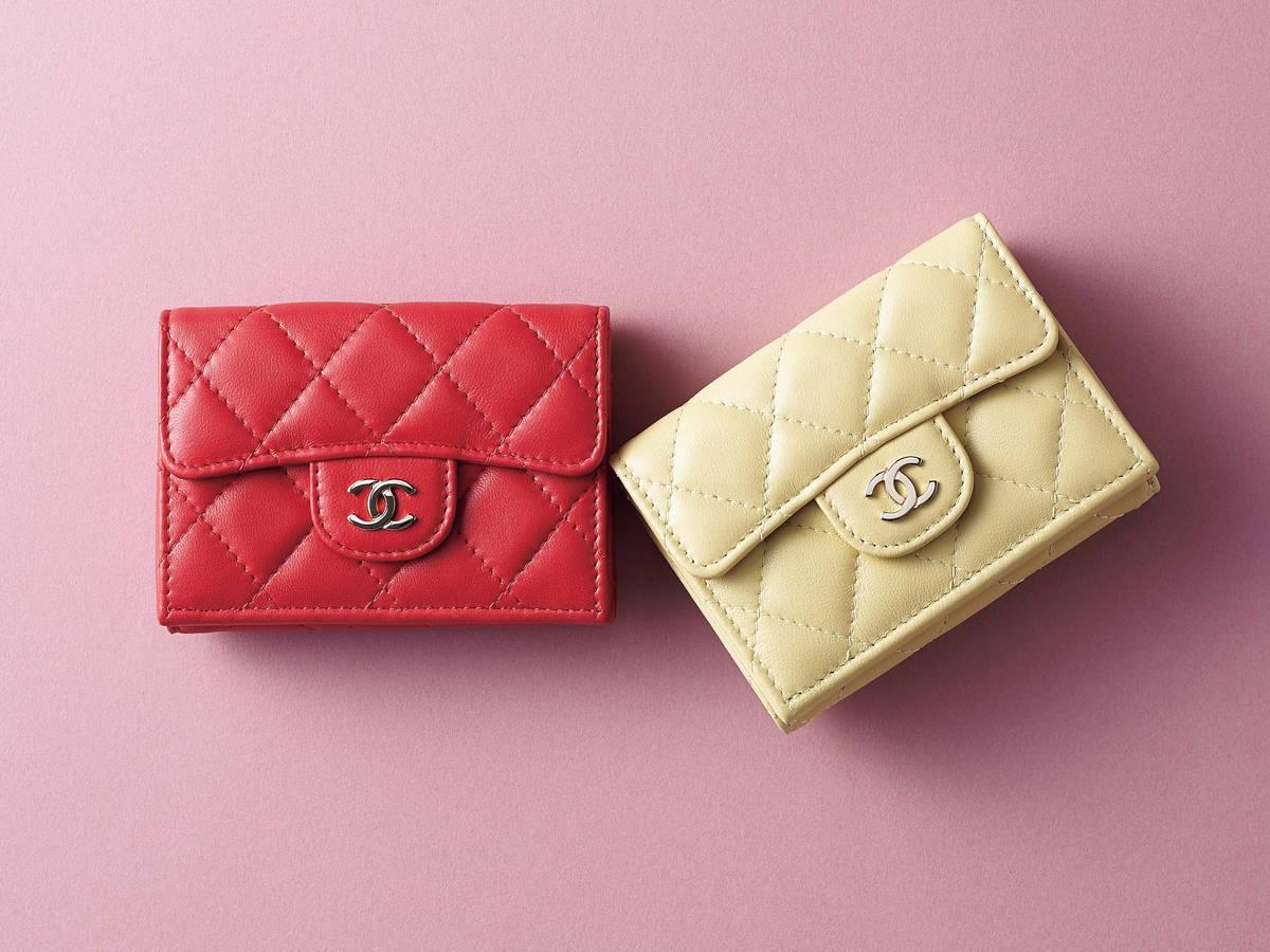 on sale 5d675 3c00e バッグの中身を新しく♪ご自慢ブランドで#お財布新調【シャネル ...