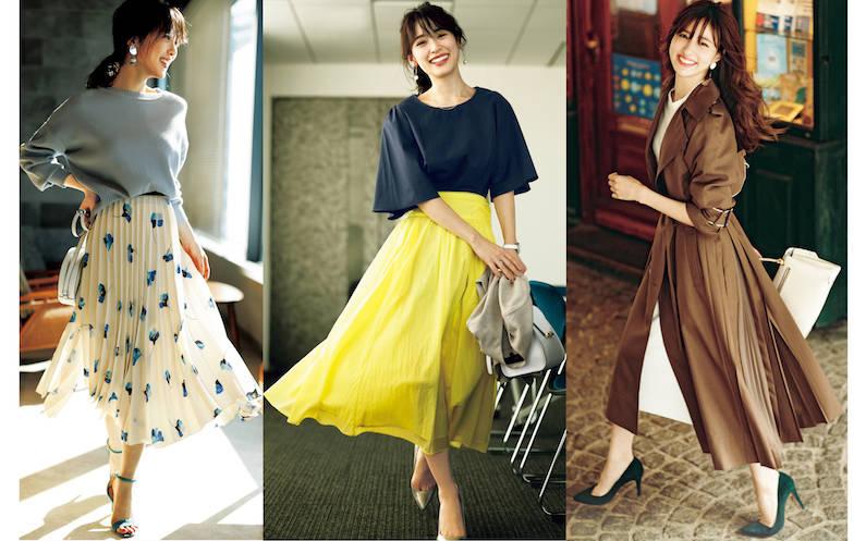 春服コーデ2019年版♡ 大人可愛い20代、30代の春服