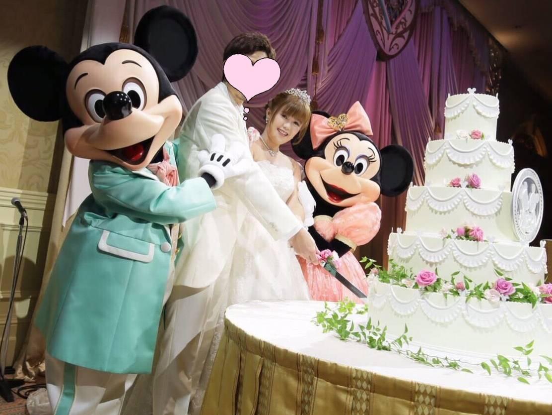 ミラコスタFTW 💐 披露宴レポ ② 💒 ケーキ入刀 \u0026 ファースト