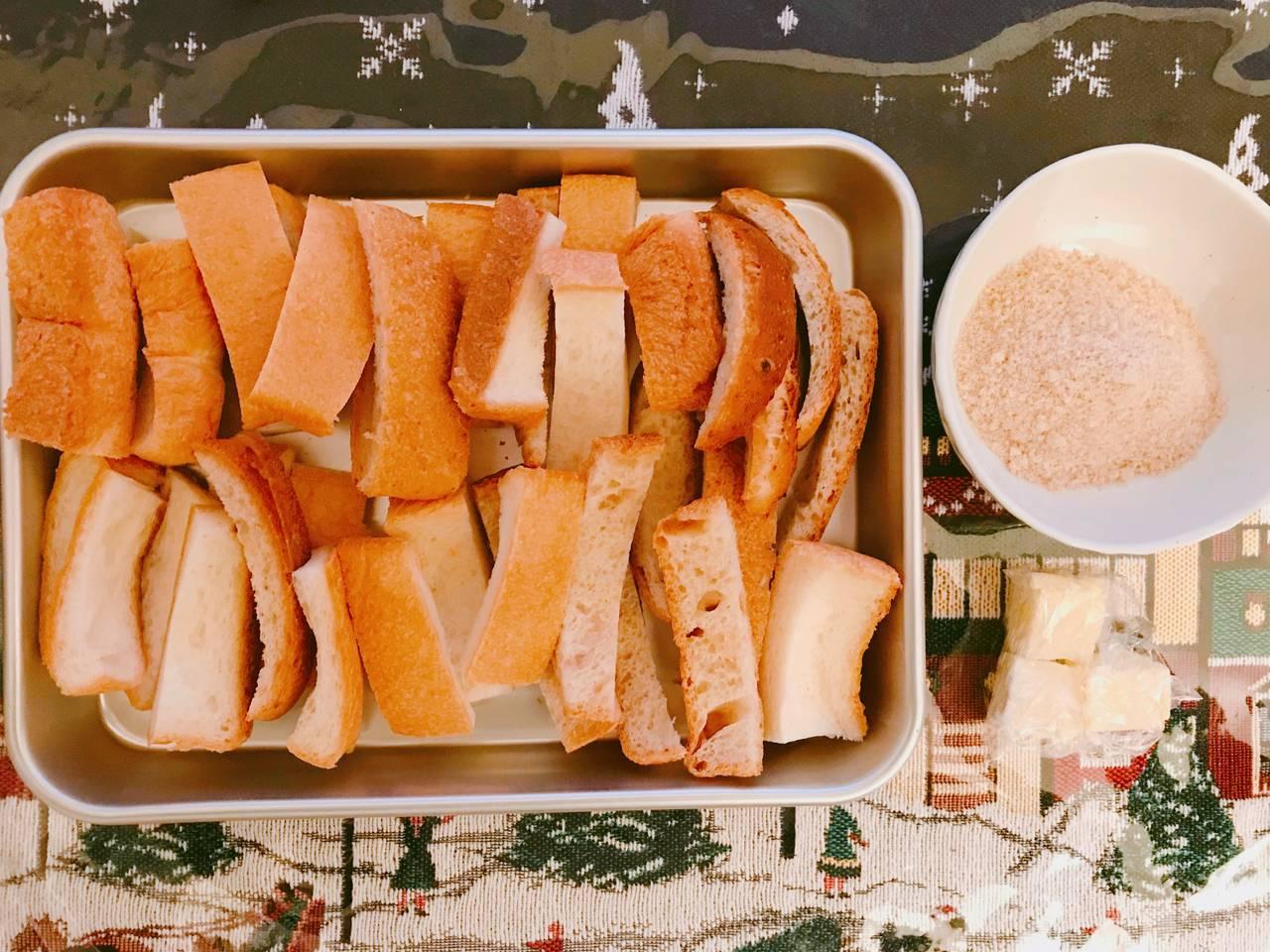 簡単 食パン ラスク