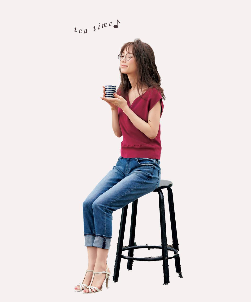ティータイムの泉里香さん
