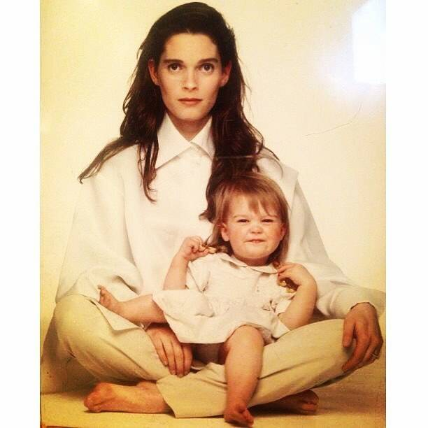 Kitty SpencerさんはInstagramを利用しています:「Such a graceful baby. Behind the scenes - Harpers & Queen with Mumcat, 1992 ❤️」 (219150)