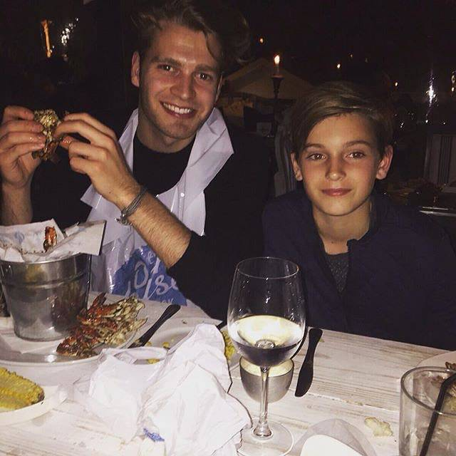 """Kitty Spencer on Instagram: """"My handsome brothers 😍"""" (219151)"""
