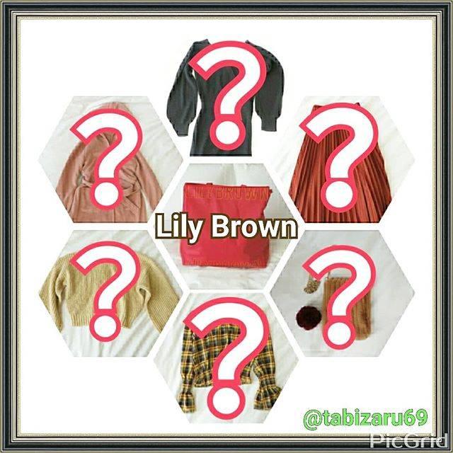 """旅猿69 on Instagram: """"福袋ネタバレ たくさん福袋買いすぎて、大荷物。  自分の備忘録のためにも、写真撮って、ブログに残しています。  今年のリリーブラウンの福袋について、ネタバレブログ書きました。  プロフィールのURLから、よかったら。  #福袋69 #リリーブラウン#リリーブラウン福袋…"""" (366325)"""