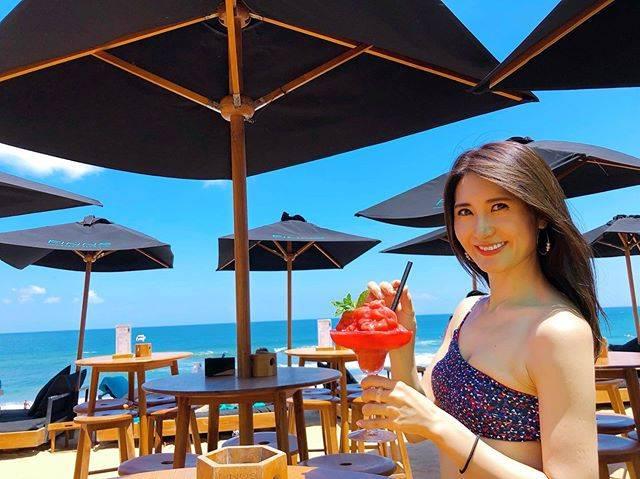 """𝔼ℝ𝕀ℂ𝔸 on Instagram: """"vacation 🌴🌺🌈✨ . . バリのチャングーにあるFINNS Beach Clubに行ってきたよ😆💗 . 日本人は全くいなくて、のんびりできて、すっごく良かった🥰✨ . . またバリに行ったら、また来たいな💙👏 . . #finnsbeachclub #beach…"""" (607736)"""