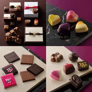 季節のショコラをご説明します。チョコレート、ザッハトル...