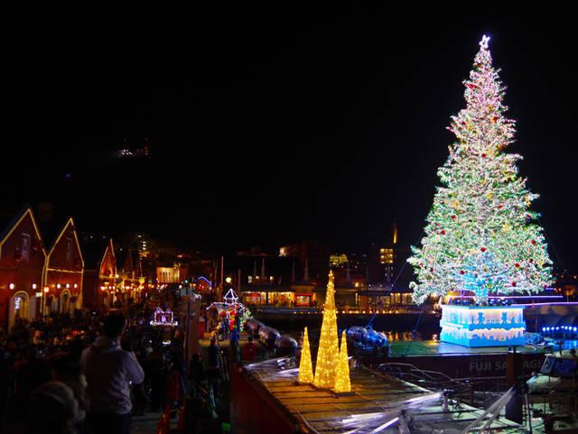 函館にもクリスマスがやってきました。