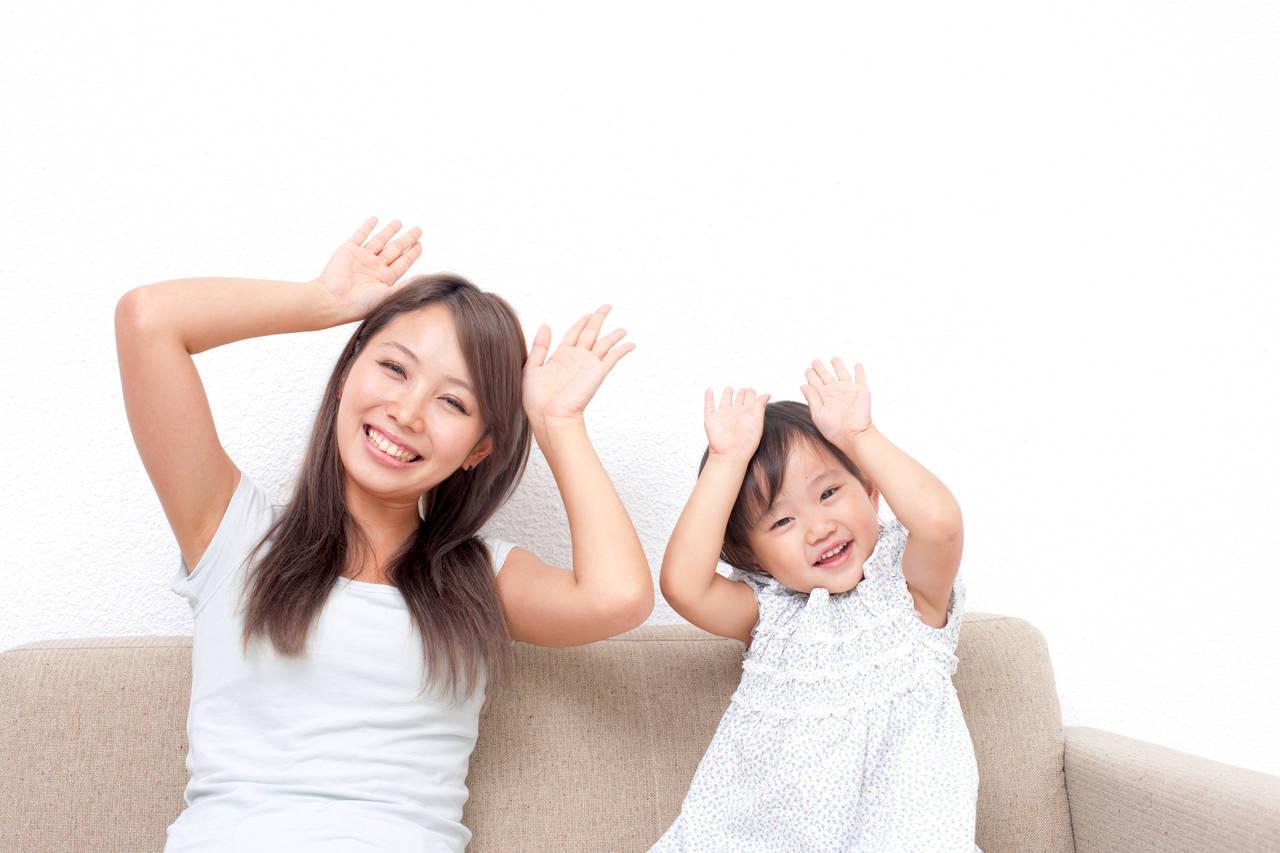 3歳の子どもと一緒に手遊び歌!家でも外でも移動時間も楽しもう
