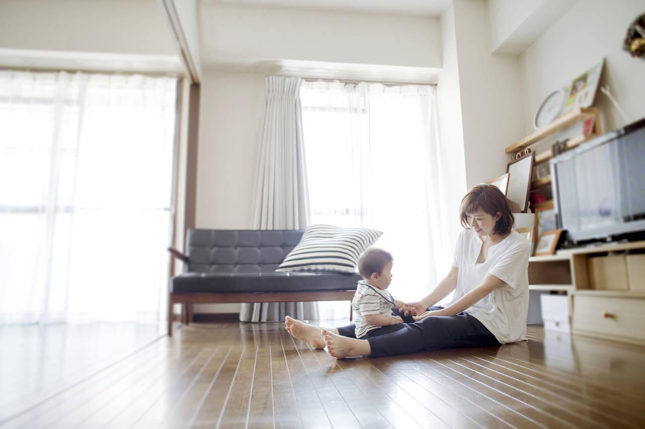 赤ちゃんがいる家のインテリア。過ごしやすい部屋と家づくりのコツ