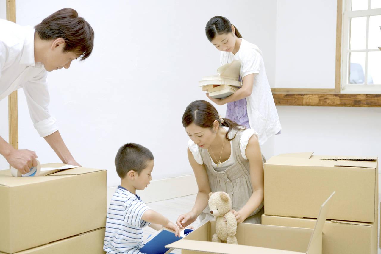 子どもと引っ越しするベストな時期は?子どもへの影響とフォロー