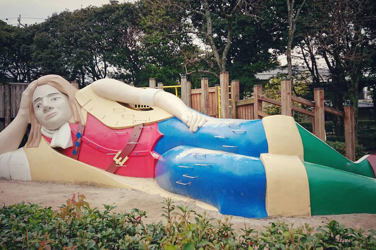 【愛知】ガリバー旅行記のごっこ遊びを楽しめる「秋葉公園」