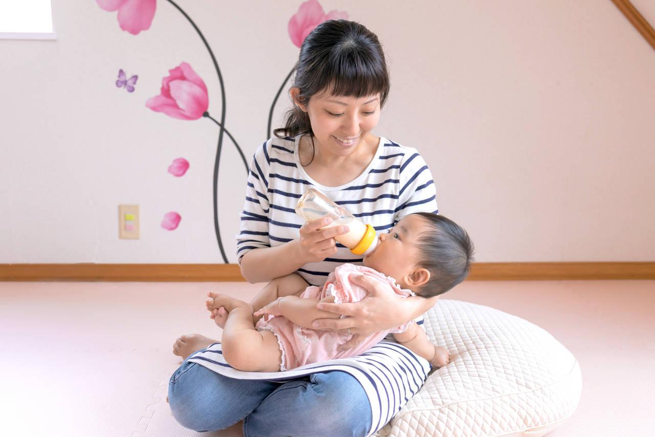 混合育児のやり方を知ろう!母乳、ミルクそれぞれメインの授乳方法