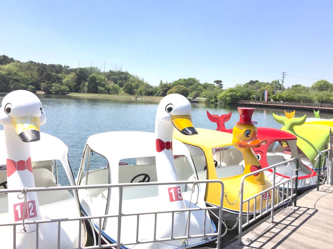 【愛知】自然に囲まれた公園でボートに乗ろう「鞍ケ池公園」