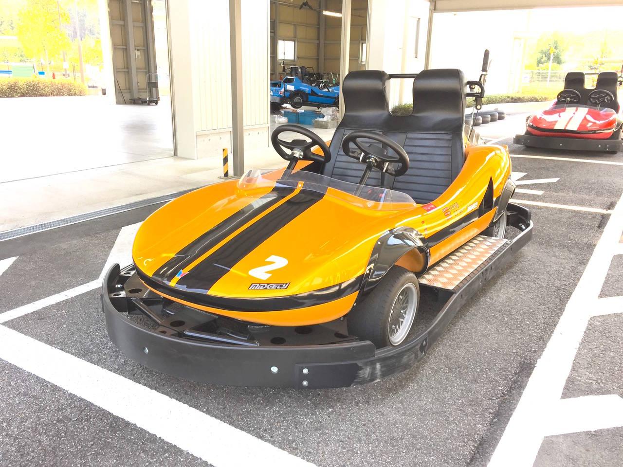 【愛知】カッコいいゴーカートに乗れる「豊田市交通安全学習センター」