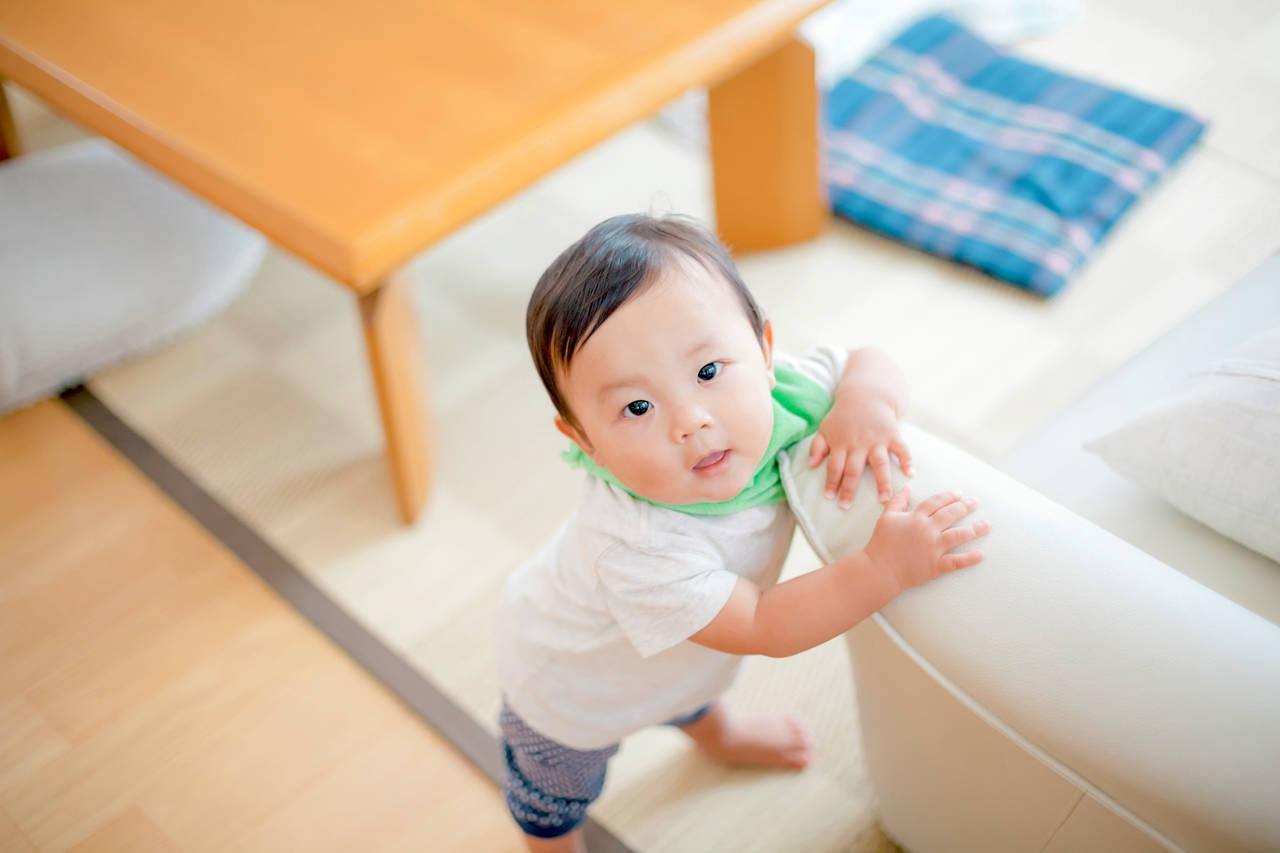 1歳児の歩く時期や前兆は?歩くのが遅い子の為に出来ること