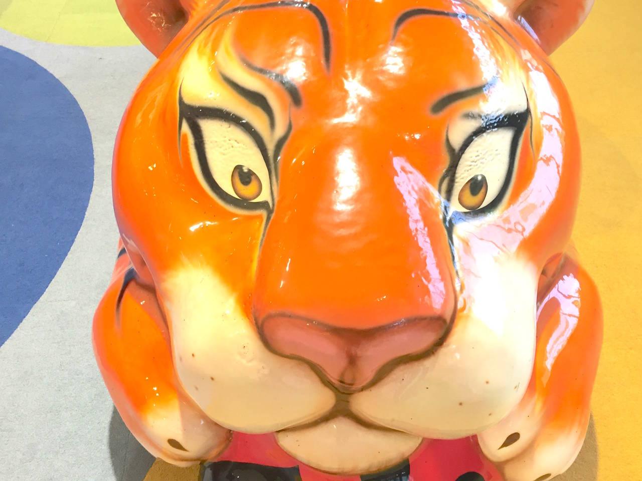 【名古屋】大きなトラのオブジェが人気「イオンモール名古屋みなと」
