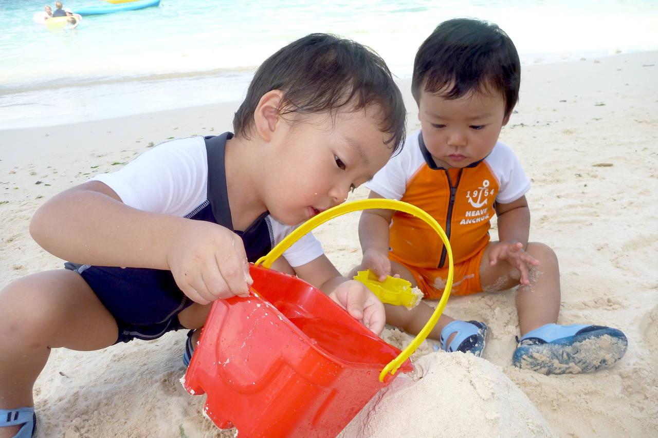 子どもと海に行くための便利グッズ。楽しく快適に海を満喫しよう