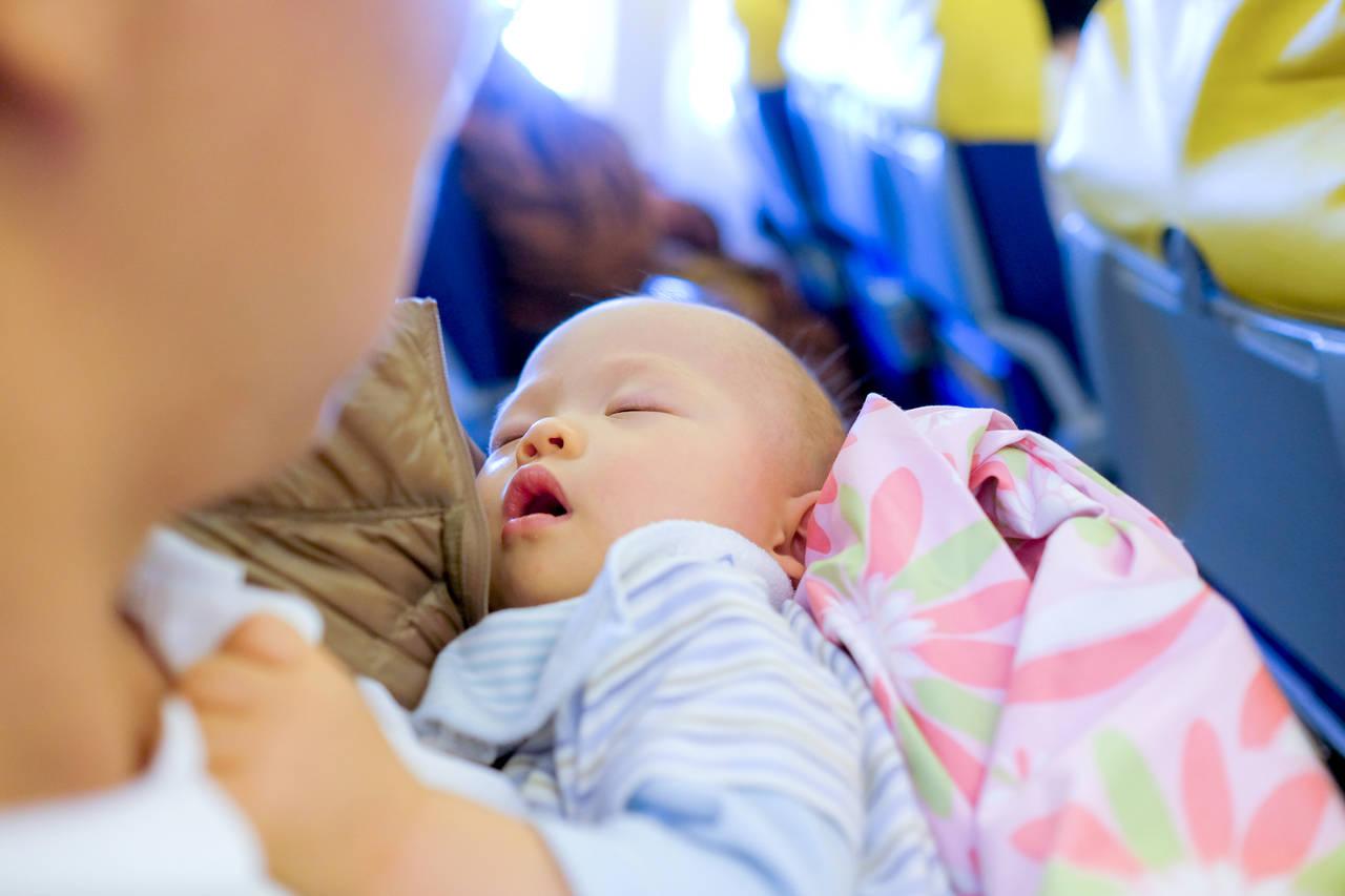 産後に飛行機で里帰り。赤ちゃんと行くための準備と嬉しいサービス
