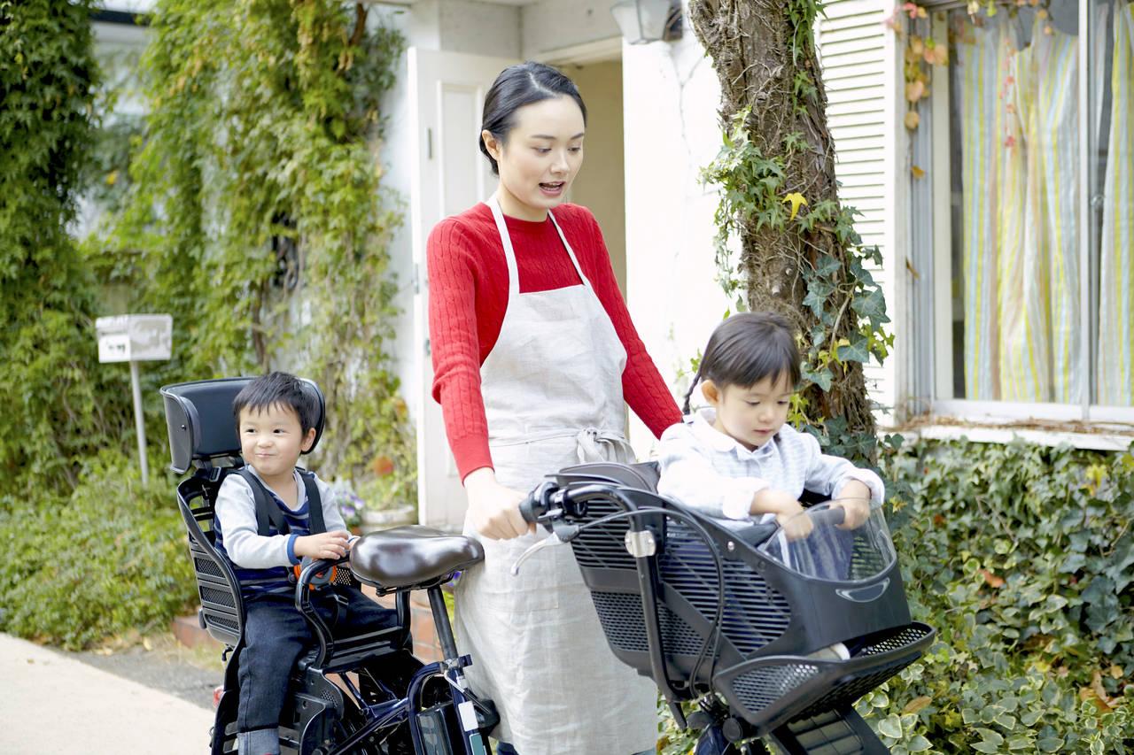 子育てを便利にするママチャリ!正しく乗って快適に過ごそう