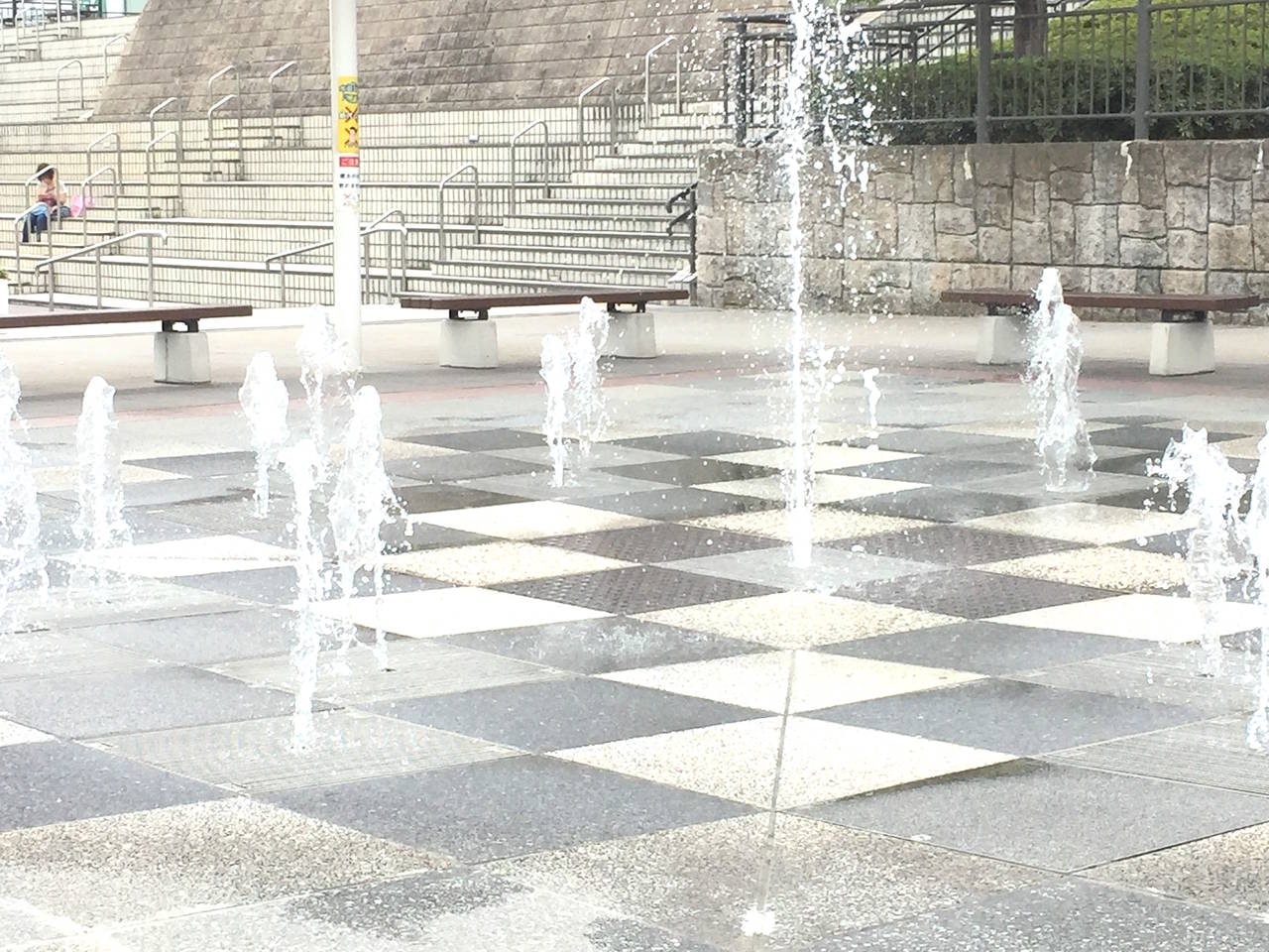 【愛知】噴水とミストが楽しい「刈谷ハイウェイオアシス岩ケ池公園」