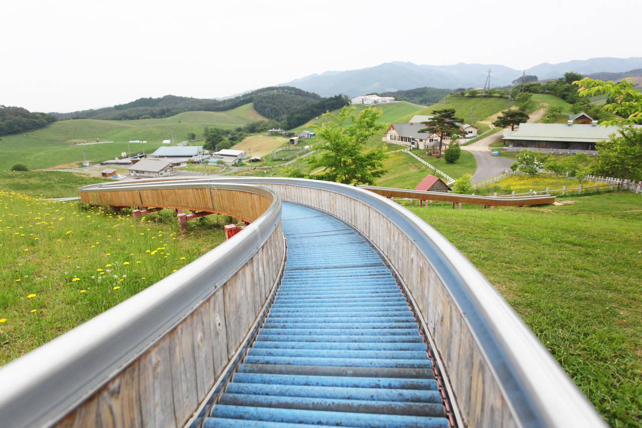 【宮城】県内一長い123mのすべり台がある「モ~ランド・本吉」