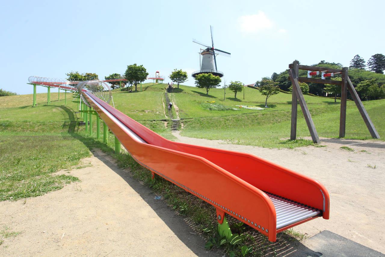 【宮城】オランダ風車とローラースライダー「長沼フートピア公園」