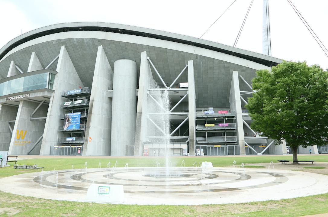 【愛知】いろんな噴水、水場が楽しい「豊田スタジアム」