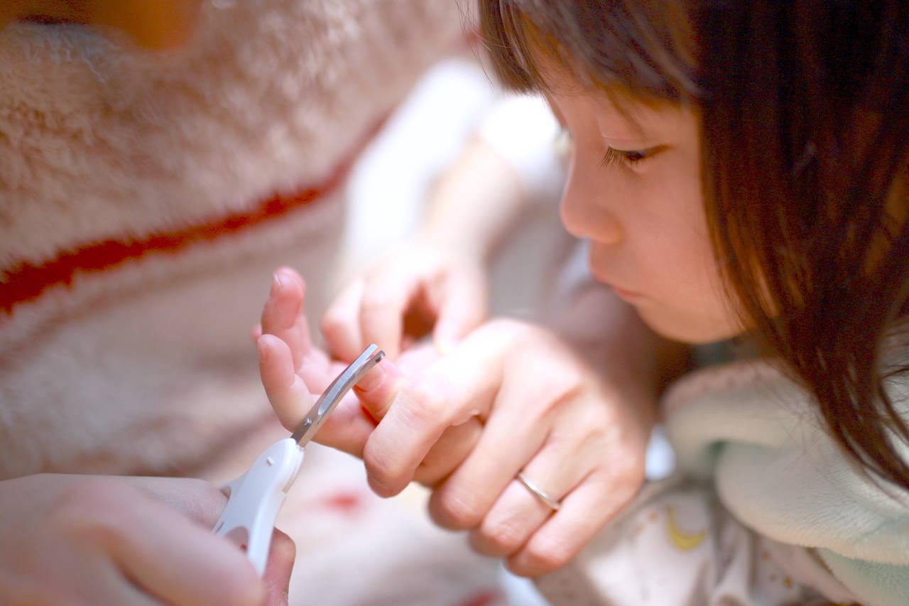 幼児の爪の切り方のポイントは?うまく切るコツと困りごとの対処法