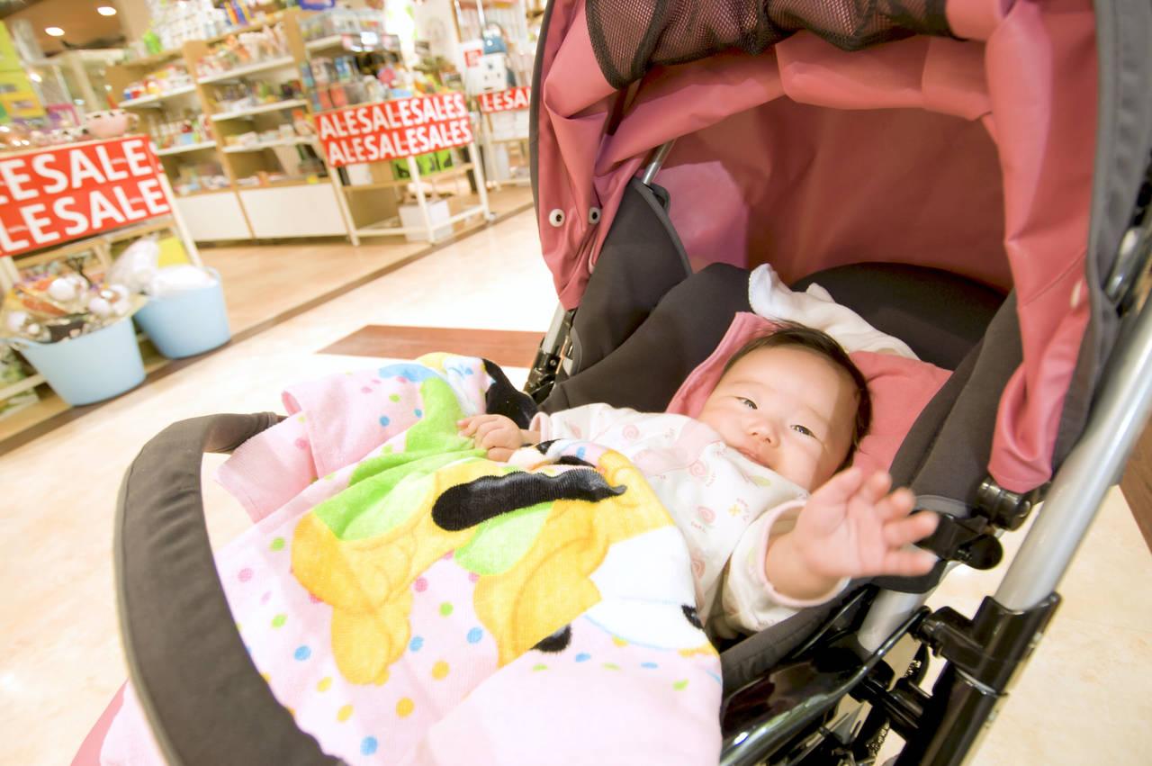 乳児との買い物ストレスをなくしたい!買い物のコツや方法を紹介