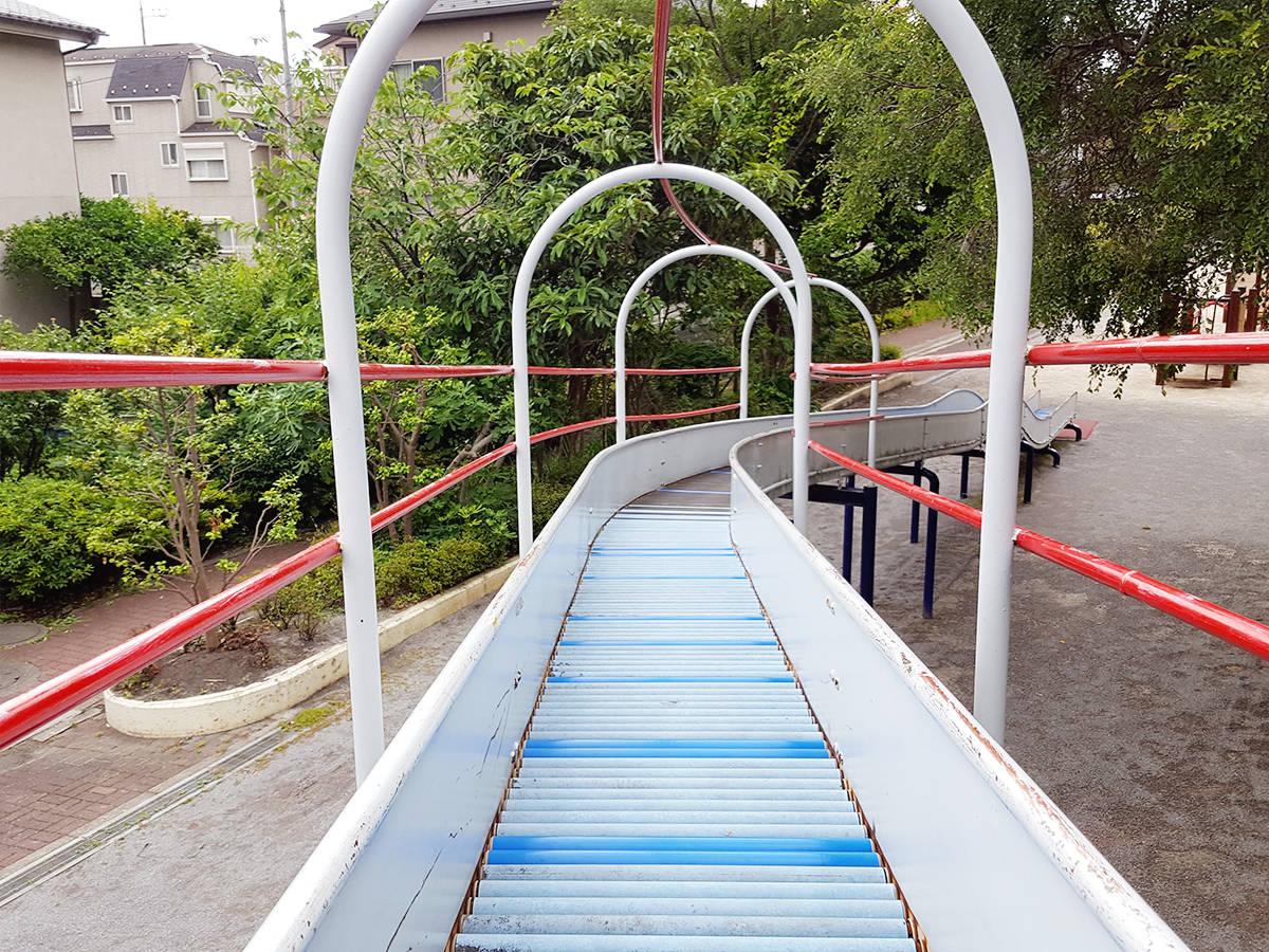 【東京・江戸川区】ローラーコースターが目玉「宇喜田川公園」
