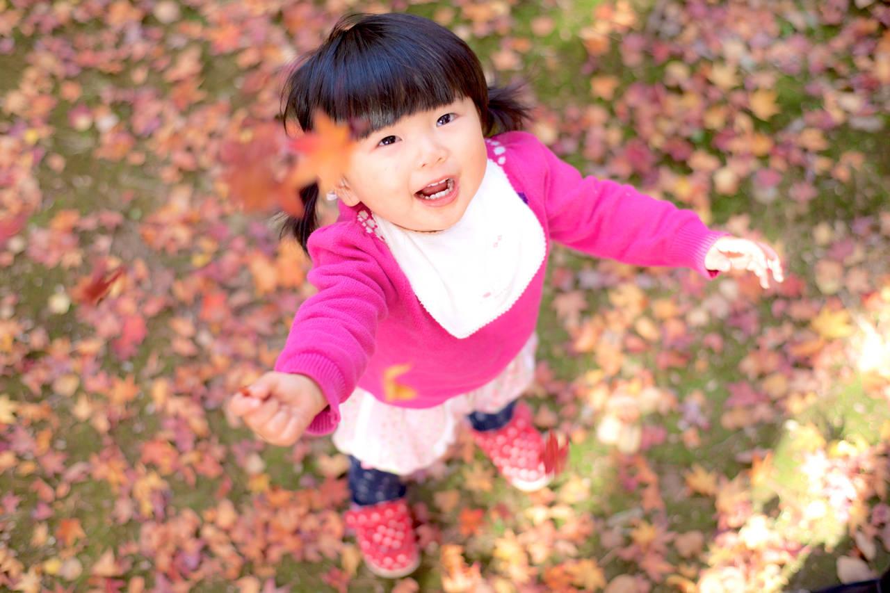 秋だから楽しめる幼児の遊び。手作りのアイディアや満喫方法を紹介!