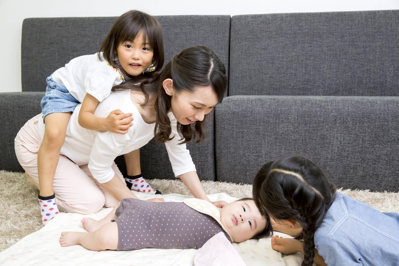 3人目は大変だが幸せは倍増!子ども3人の大変さやよかったことは?