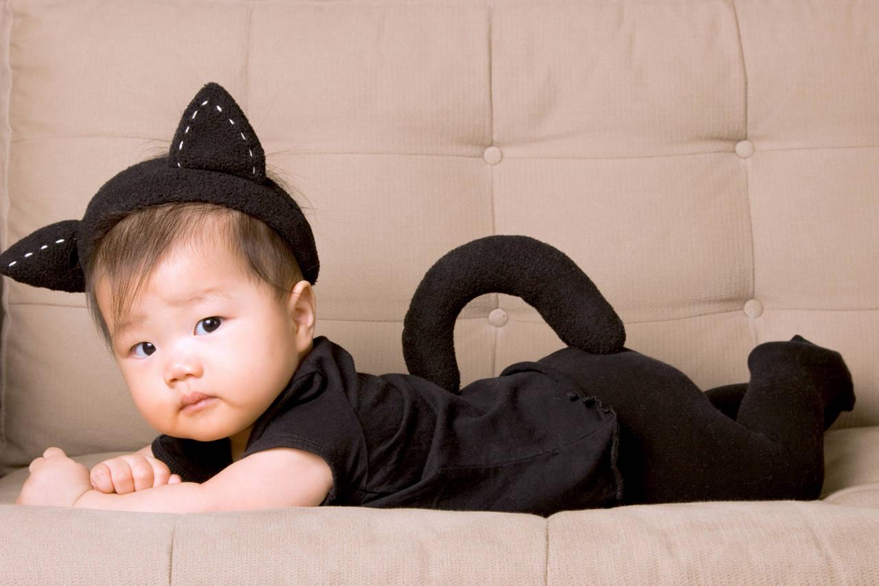 秋の赤ちゃん用着ぐるみが可愛い!着るときの注意点と上手な選び方
