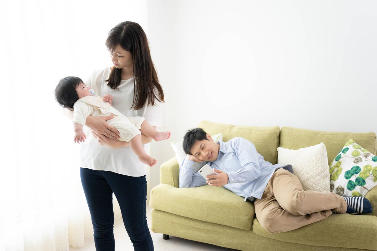 産後はパパを嫌いになるママが続出?産後の心理状態や対処法