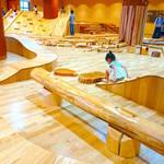 【仙台】木製遊具で遊ぼう!豊かな感性を育む「感性の森」