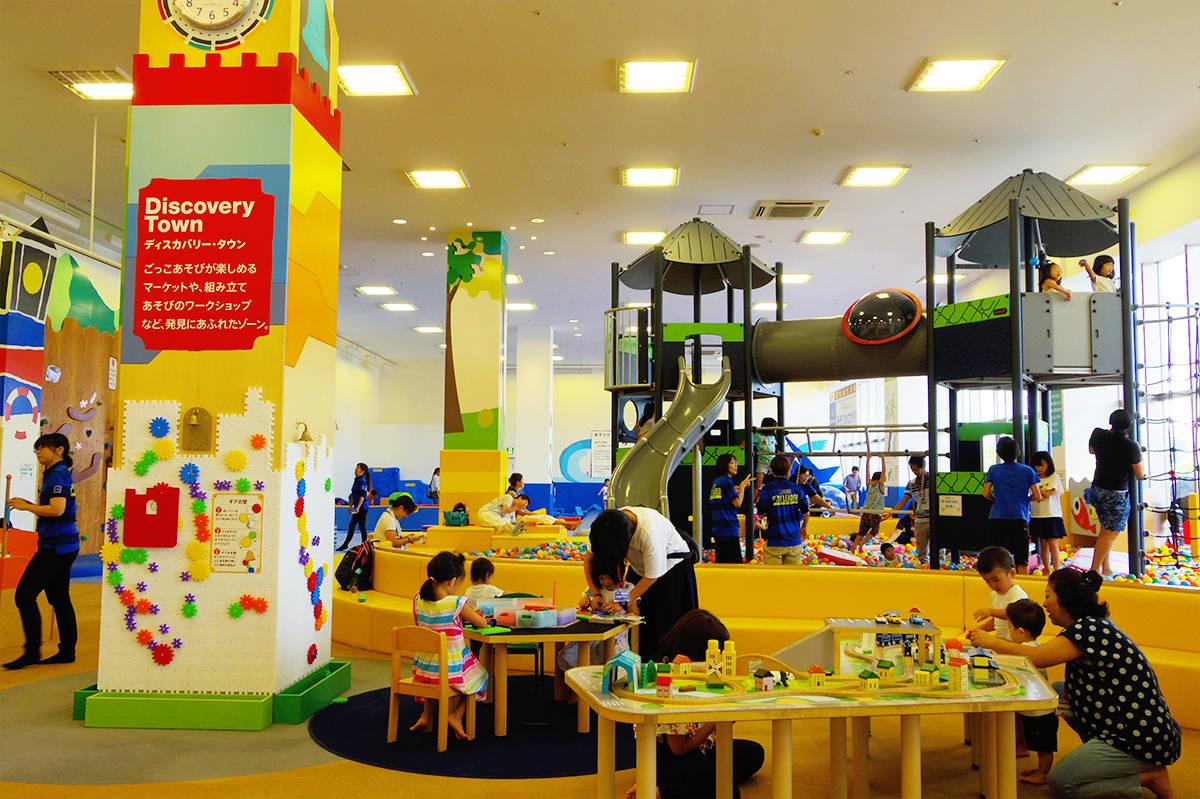 【東京】大型遊具に夢中「ボーネルンドあそびのせかい イオンモールむさし村山店」