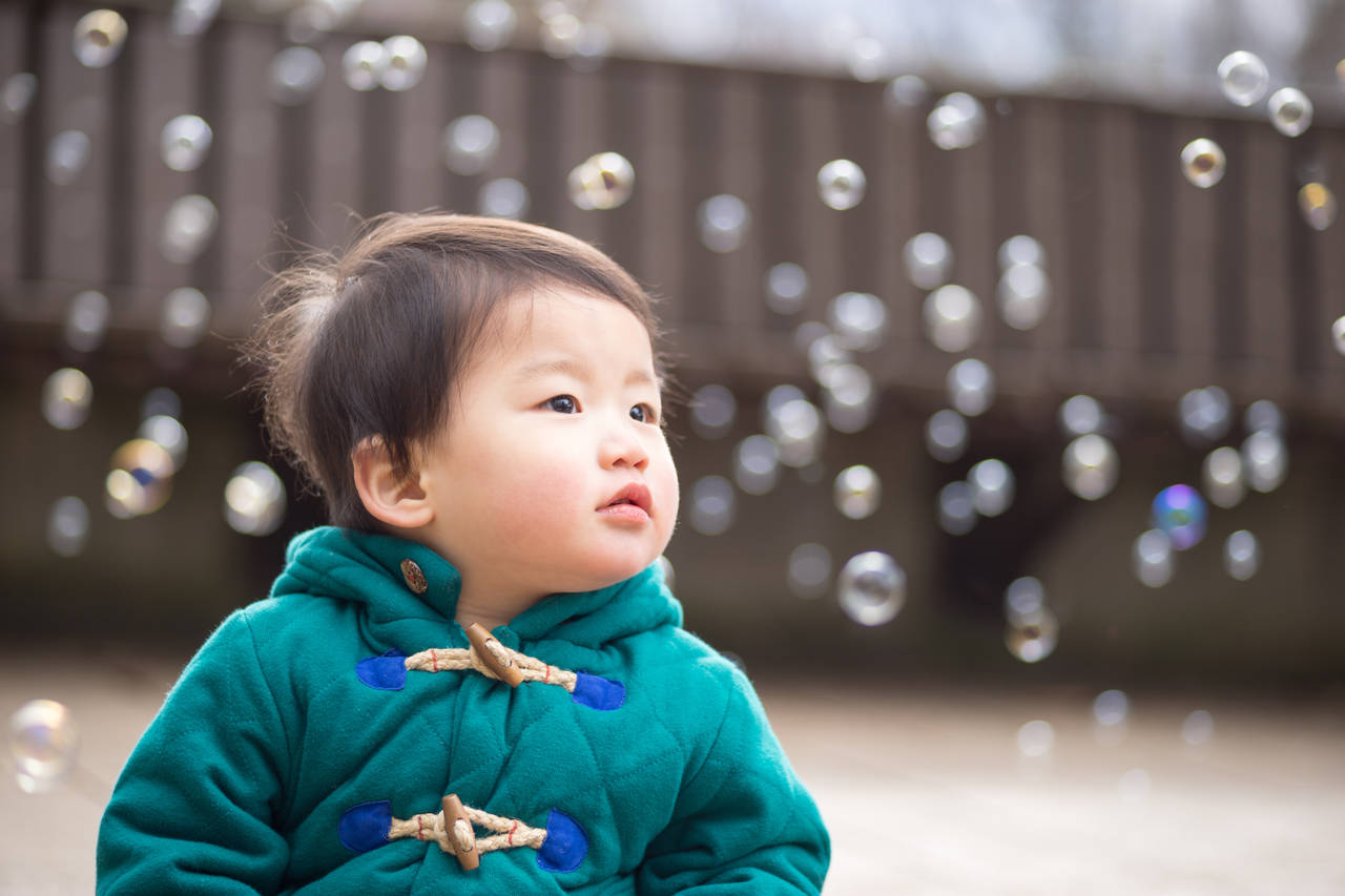 赤ちゃんもシャボン玉遊びがしたい!安全に楽しめるシャボン玉