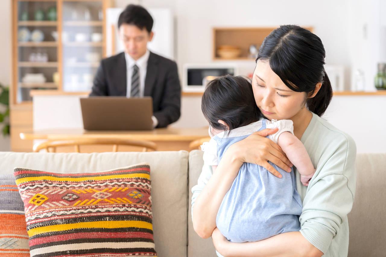 子育てママのストレスはパパ。原因と対策を考えて家庭円満になろう