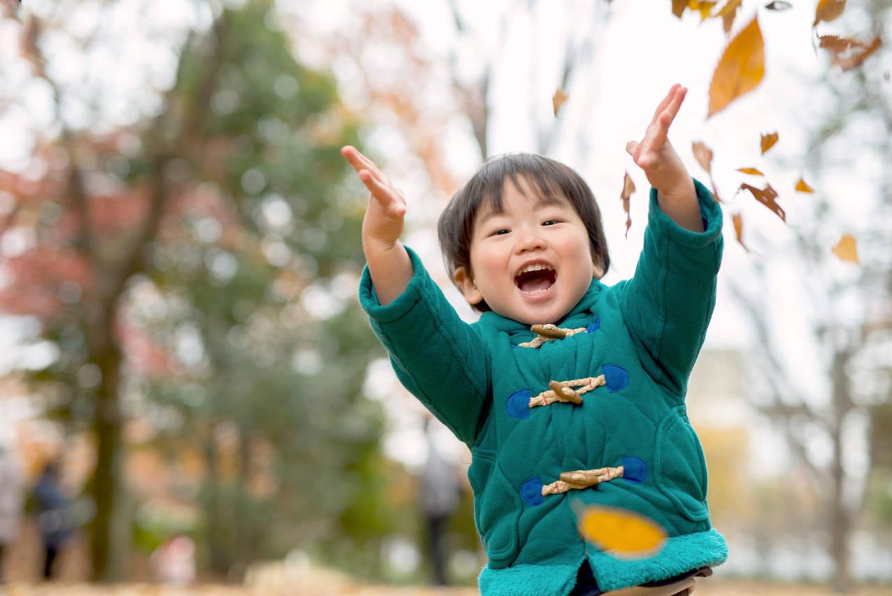 幼児が秋を楽しめる運動遊びとは?おすすめの遊びと気を付けたいこと