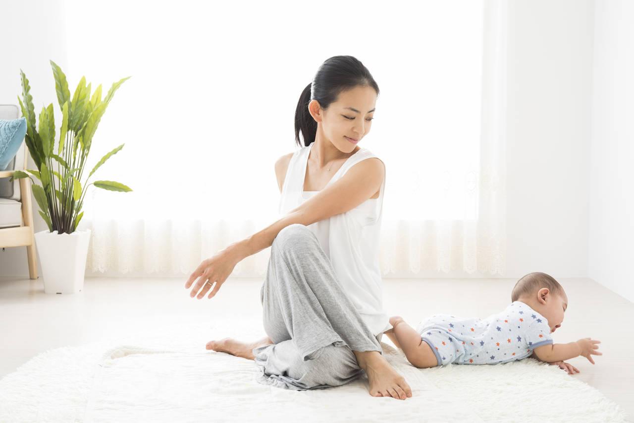 忙しいママでもできる運動をしよう!毎日続けてダイエット効果アップ