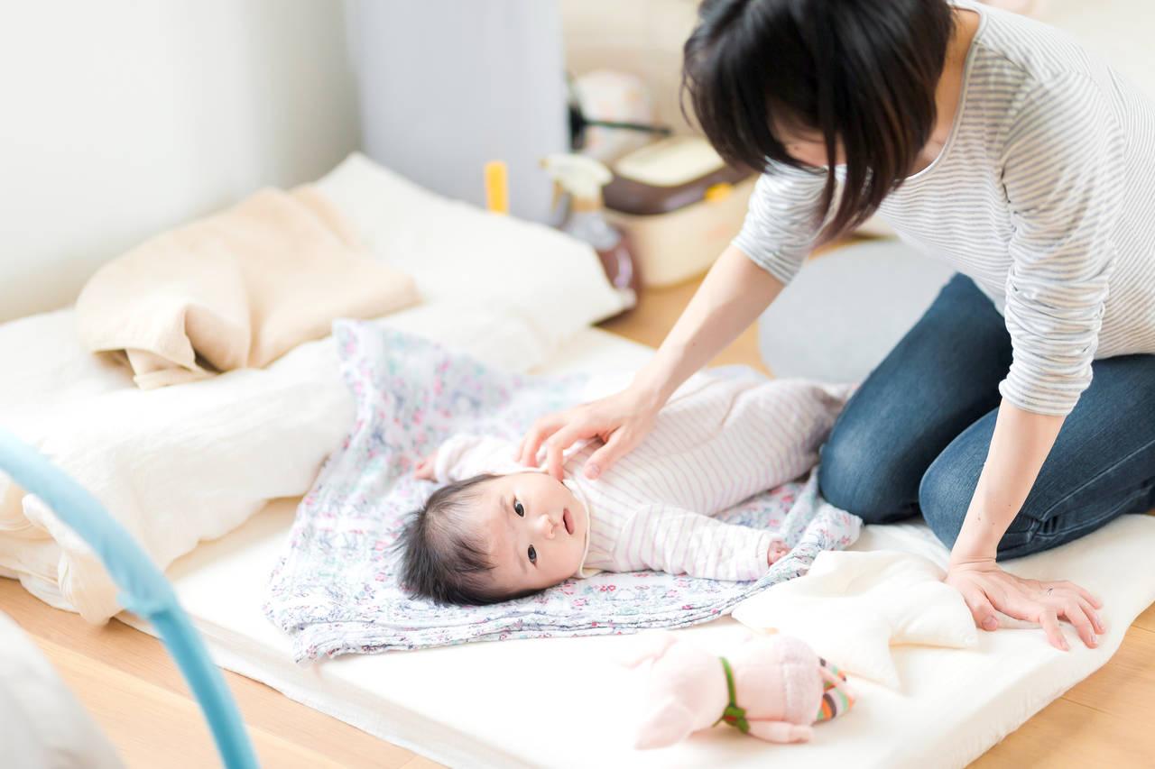 赤ちゃんの秋の寝具選び!寒暖差を考慮したお布団で寝冷えを防ごう