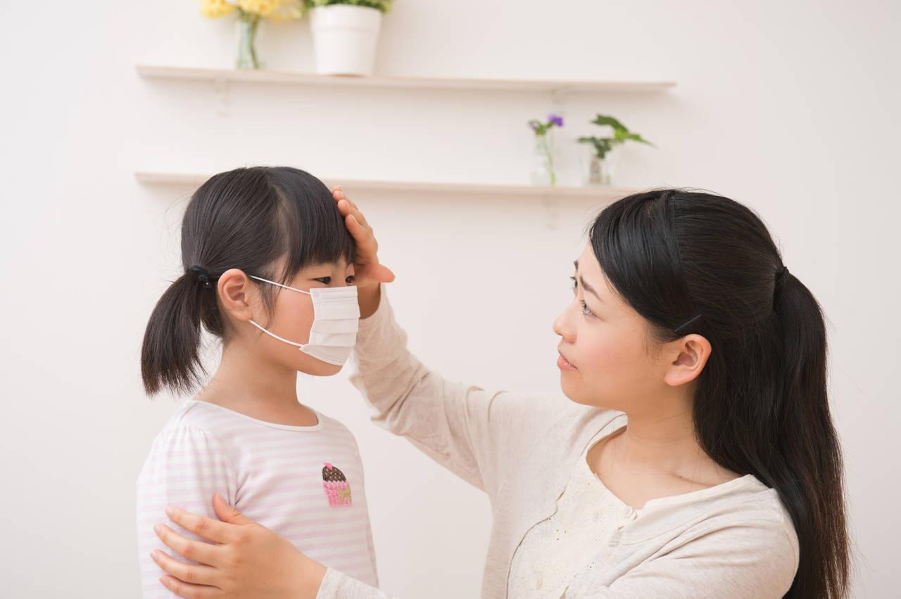 冬に流行る病気から子どもを守る!予防方法と家庭での対処法とは