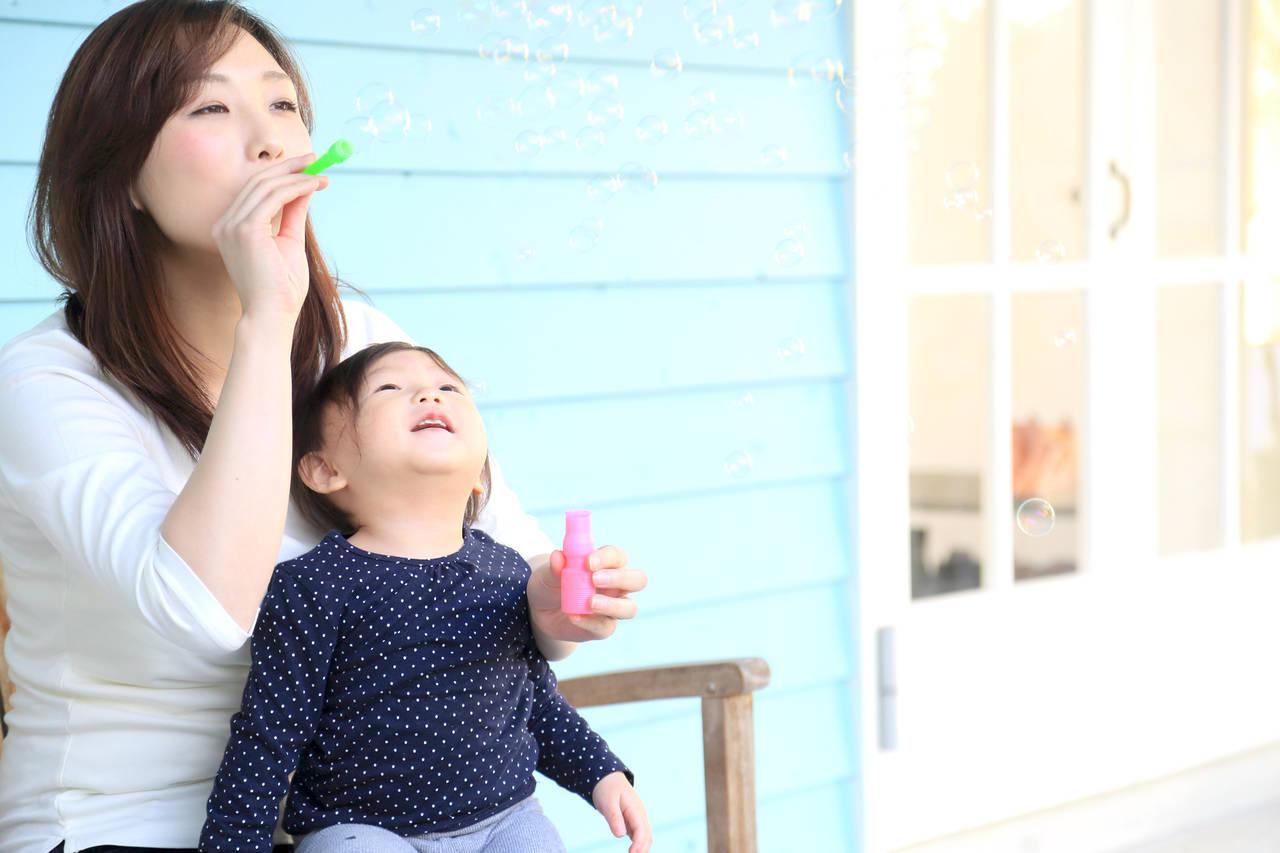 子ども用のシャボン玉で遊ぼう!手作り方法とおすすめ市販品を紹介